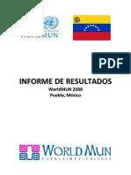 Informe Worldmun 2008