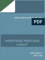 Hipertensi Pd Lansia