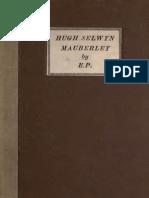 Ezra Pound - Hugh Selwyn Mauberley