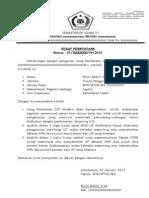 Contoh Surat Pernyataan Up 2013