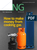 How to make money from cooking gas