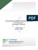 CUYAHOGA INNOVATION ZONES Pilot Program Strategic Guidebook Final Draft