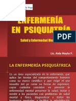 Introduccion a Psiquiatria