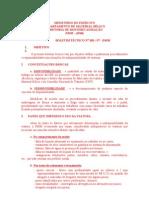 Boletin Tecnico - Disponibilidade e Indisponibilidade de Vtr