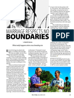 RT Vol. 12, No. 1 Marriage respects no boundaries