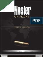 NOSLER 2013+Catalog Download