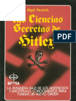 Las Ciencias Secretas de Hitler - Nigel Pennick