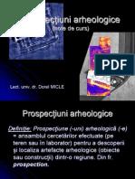 Prospectiuni arheologice