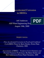 Flow-Accelerated Corrosion in HRSGs