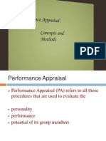 Performance Appraisal c