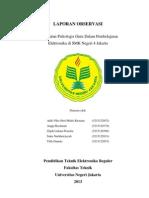 laporan observasi SMK 4 Jakarta