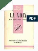 2056033 La Voix Edouard Garde