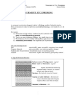 Pavement Engineering Notes 2012