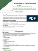 Convention Entre La Ffgym Et La Fscf