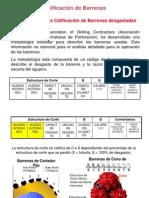 Código IADC para Calificación de Brocas