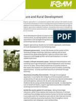Organic Agriculture and Rural Development