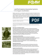 Organic Agriculture and Participatory Guarantee Systems