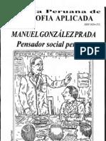 VIOLENCIA Y SER COLECTIVO (Ontologái de la violencia en Manuel Gonzáles Prada) Héctor Flores Iberico