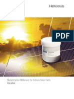 Catalog_Metallization Materials for Si Solar Cells