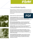 Organic Agriculture and Gender Equality