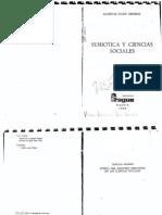 Semiótica y ciencias sociales, A.J. Greimas