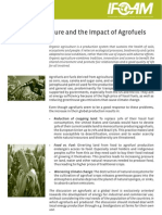 Organic Agriculture and the Impact of Agrofuels
