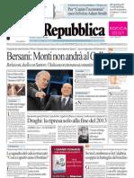 La Repubblica (11.01.2013)