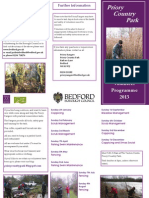 Volunteer Programme 2013