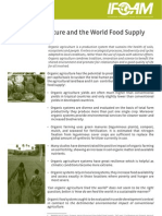 Organic Agriculture and the World Food Supply