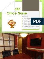 City Health Office Nurse CHN