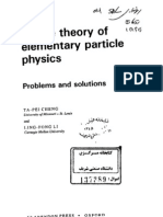 Gauge theory of elementary particle physics