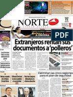 Periodico Norte de Ciudad Juárez 11 de Enero de 2013