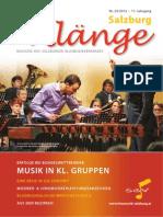 Salzburg Klänge 2/2012 - Ausgabe 23