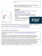 Todd May - Foucault's guide to living