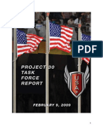 Project30 Task Force Report