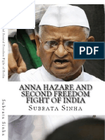 Anna Hazare and Second Freedom Fight of India