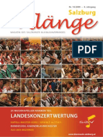 Salzburg Klänge 2/2009 - Ausgabe 16
