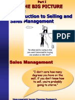 Introduction to Selling and Sales Management