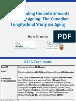 Canadian Longitudinal Study on Aging Loughborough Presentation