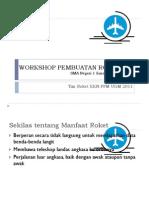 Workshop Pembuatan Roket Air