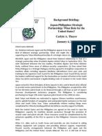 Thayer Japan-Philippines Strategic Partnership