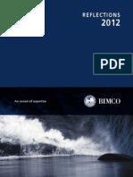 Bimco refletion 2012