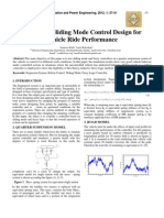 Fuzzy and Sliding Mode Control Design for Vehicle Ride Performance