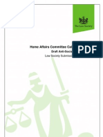 Home Affairs Select Committee Call for Evidence Anti Social Behaviour Draft Bill (1)