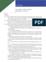Constituicão Federal de 1988 artigo 196 a 200