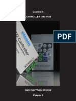 DMX controller RGB