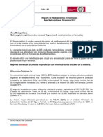 Informe Medicamentos_Area Metropolitana_Diciembre 2012