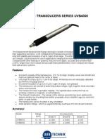 Transducers Uvb4000 50