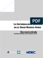 La Informalidad Laboral Documento