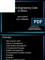 Talk Software Ethics
